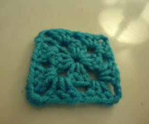 Fourth Beginner Crochet Project: Granny Square