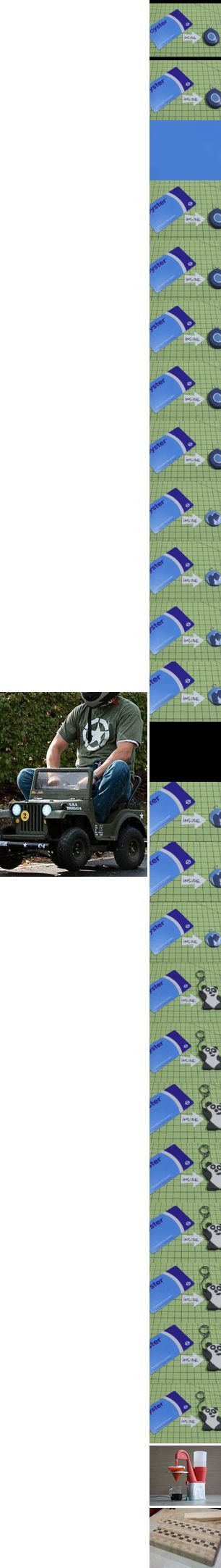 [newsletter] Racing Power Wheels Jeep, Transit Card to Sugru Fob, Electric Coffee Maker