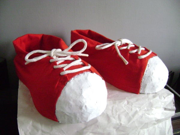 Giant Clown Shoes for Next to Nothing