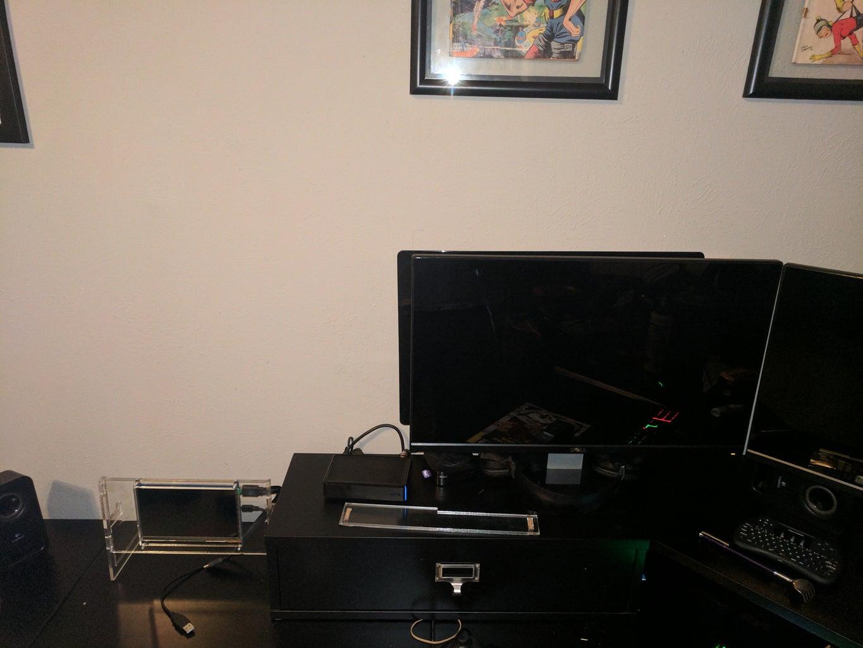 Sliding TV Mount Using Drawer Slides