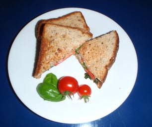 Savoury Grilled Cheese Sandwich