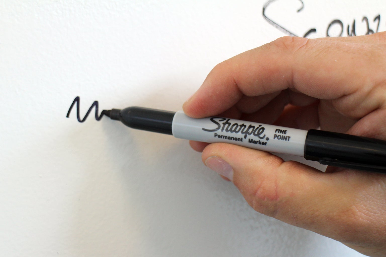 Remove Permanent Marker From Walls, and Other Non-porous Surfaces (Sometimes)