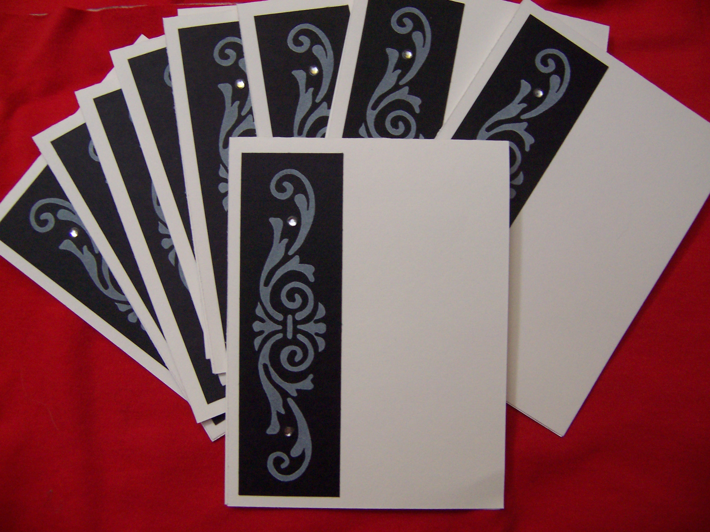 Trendy note card gift set