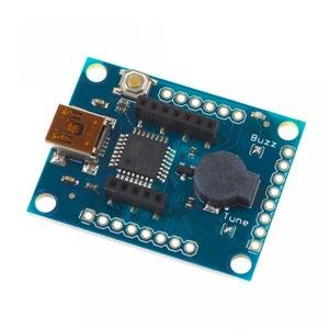 ID-12LA RFID Kit - ATMEGA32U2 USB Dev Board: