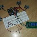 Arduino Controlling Multiple P.I.R Sensor on Same Bord