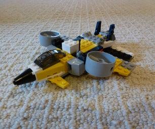 My LEGO VTOL Airplane