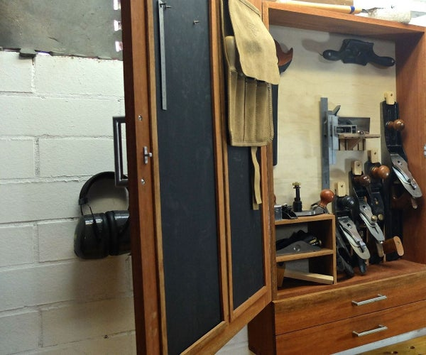 Wall Hanging Hand Tool Chest