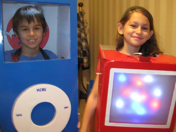 Create Real Working IPod Costume(s)