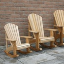 Child Size Adirondack Rocking Chairs
