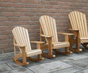 Child Size Adirondack Rocking Chairs
