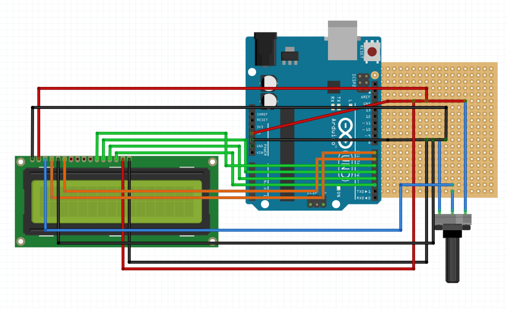 Circuitry: the Arduino and Perf Board