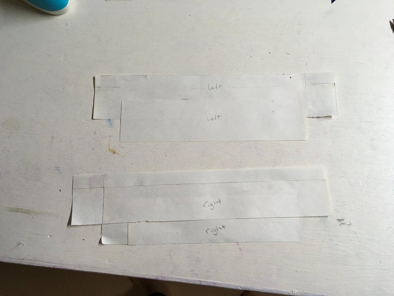 Gladiator Skirt: Side Strip Panel Patterning