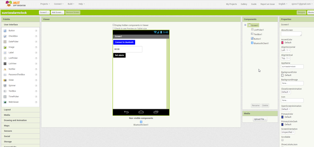 Bluetooth App Set-up