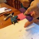 Eraser Fidget Spinner