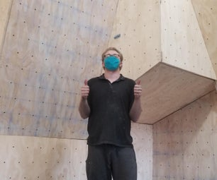 How to Build a Garage Bouldering Wall With Inside Storage Shelves