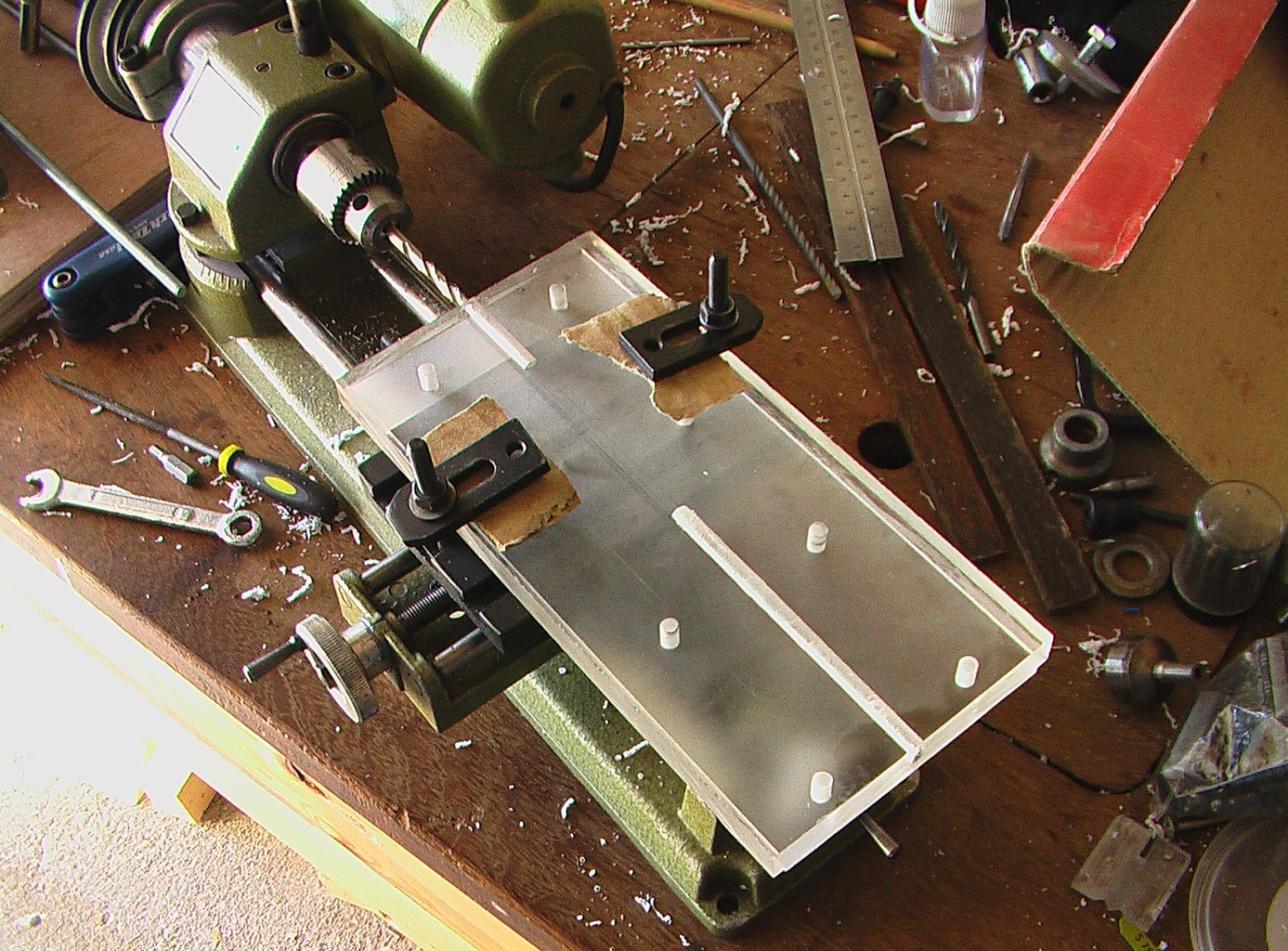 The Tailstock (part 1 - the Sliding Base)