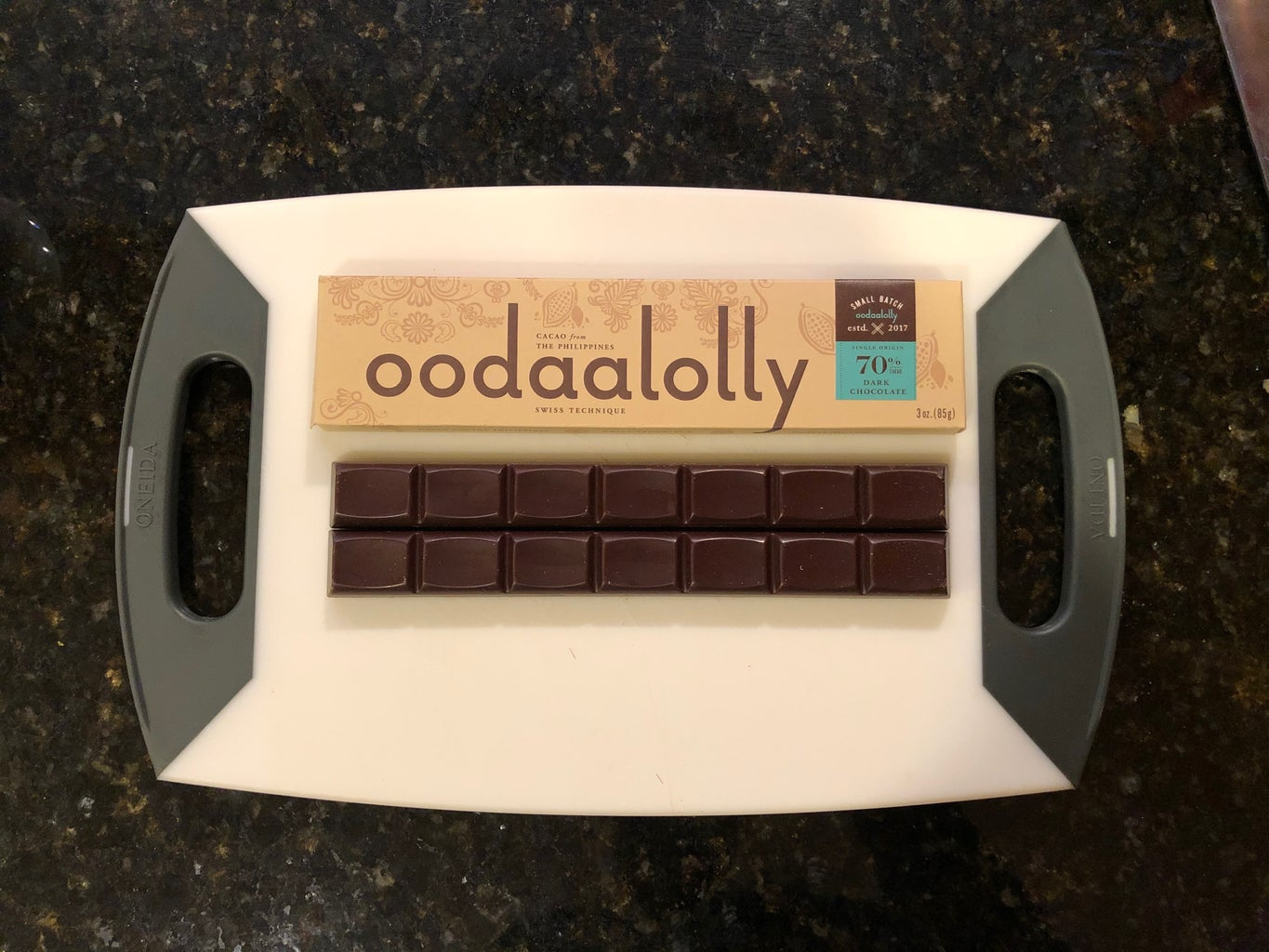 Info on Oodaalolly Small Batch Chocolate.
