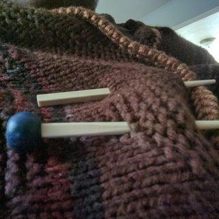 Quik Shawl (Chop Stick) Pin