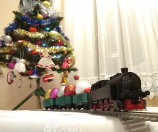 3D Printed Train (HO Scale)