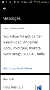 Adding Saved Places