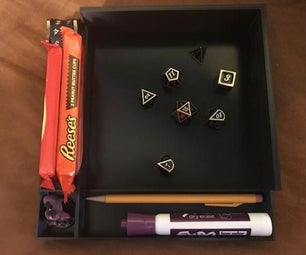 Roller Holder Box for D&D