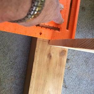 Cut Notches in Post