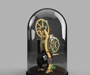 ...In the Wind - a Steampunk Clock