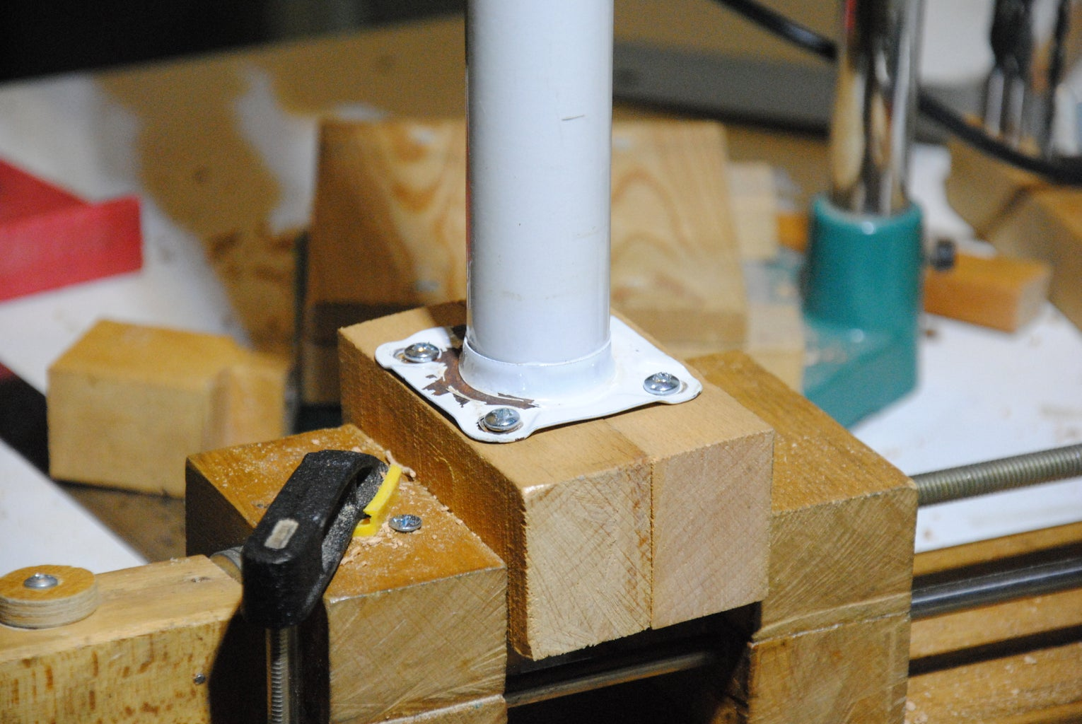 Making the Telescoping Stand Easier to Mount