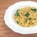 Creamy Garlic & Spinach Alfredo [Low Sodium]