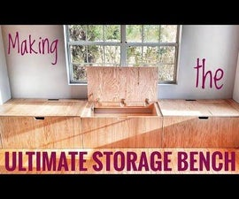 U.S.B: Ultimate Storage Bench