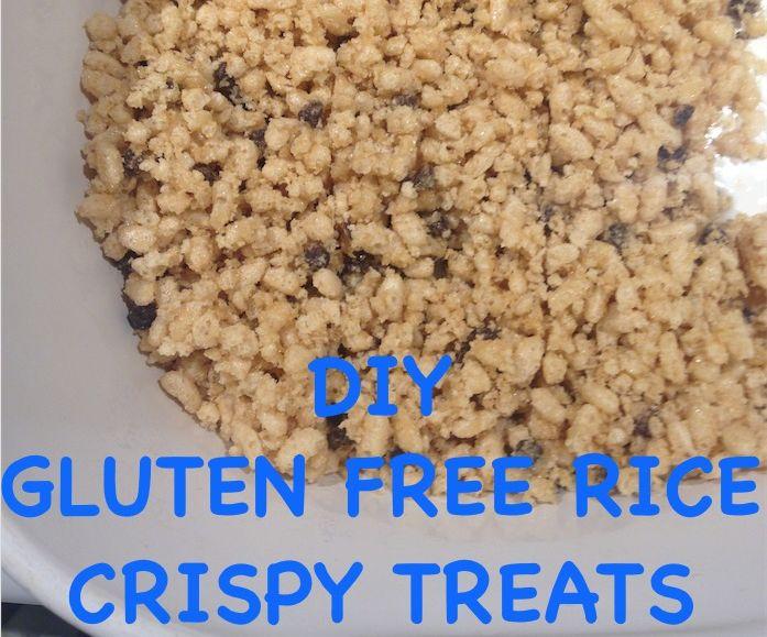 DIY Quick Gluten Free Rice Crispy Treats