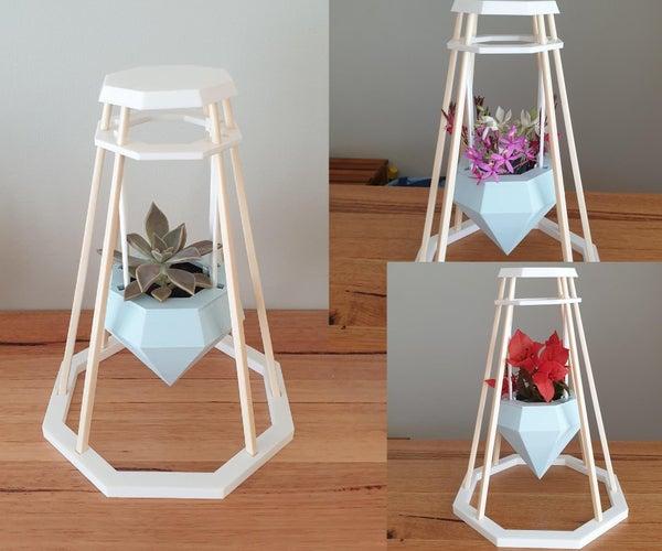 再生筷子花/植物支架