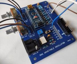 Arduino Voltage Controlled Wavetable Oscillator