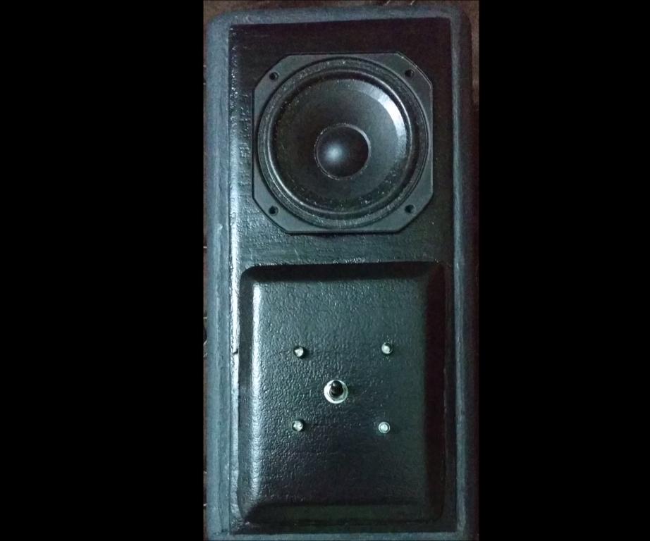 """Handmade Sealed Speaker Enclosure 3"""" FRS(Full Range Speaker) Peerless Driver"""