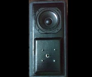 Hand Built Speaker Enclosure With LED