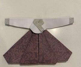 Origami Korean Traditional Dress(Hanbok)