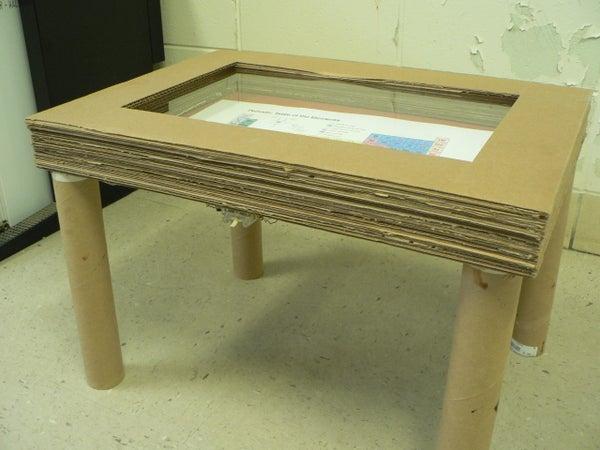 Led Shadow Box Table