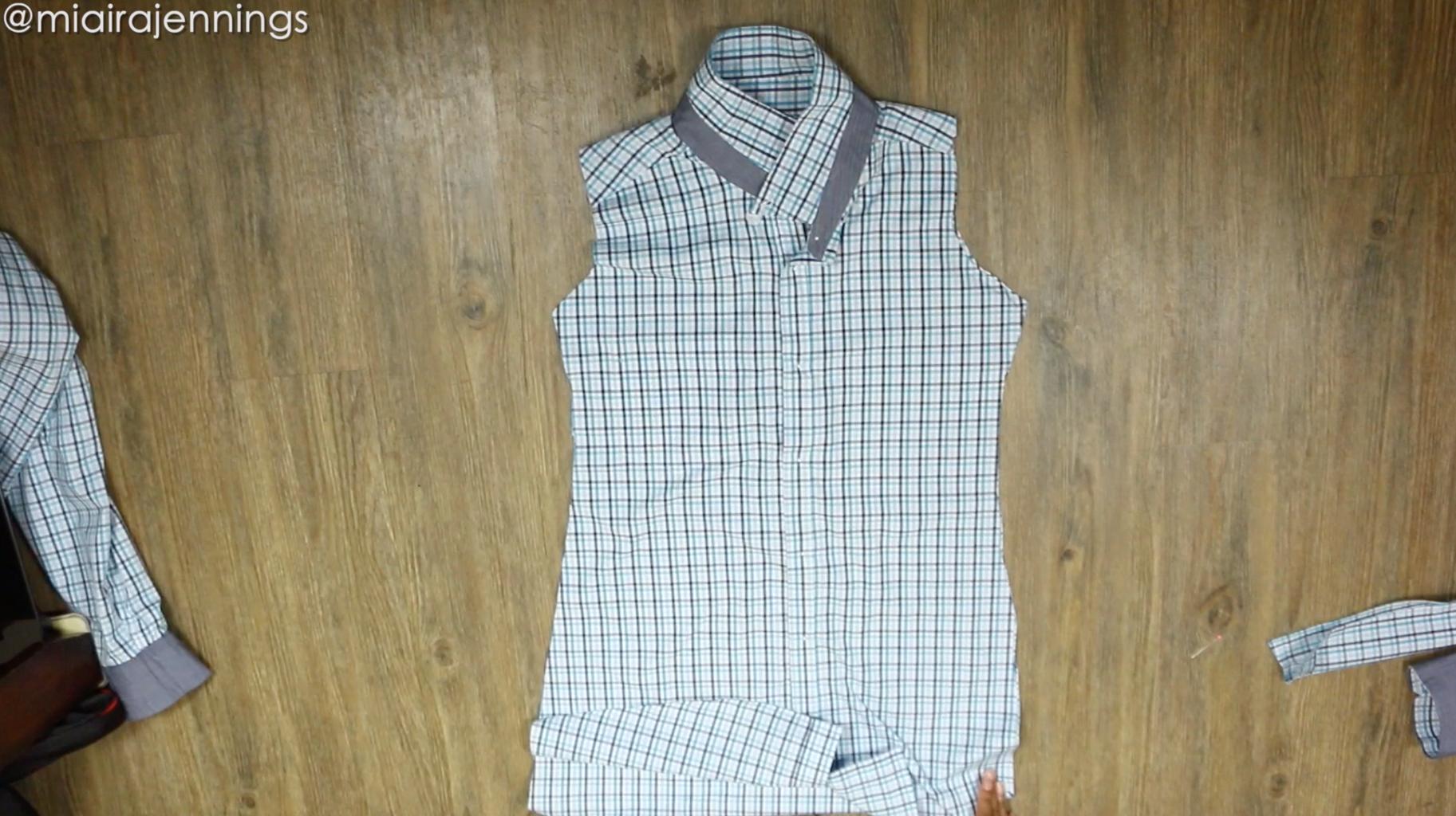 Cut Dress Shape