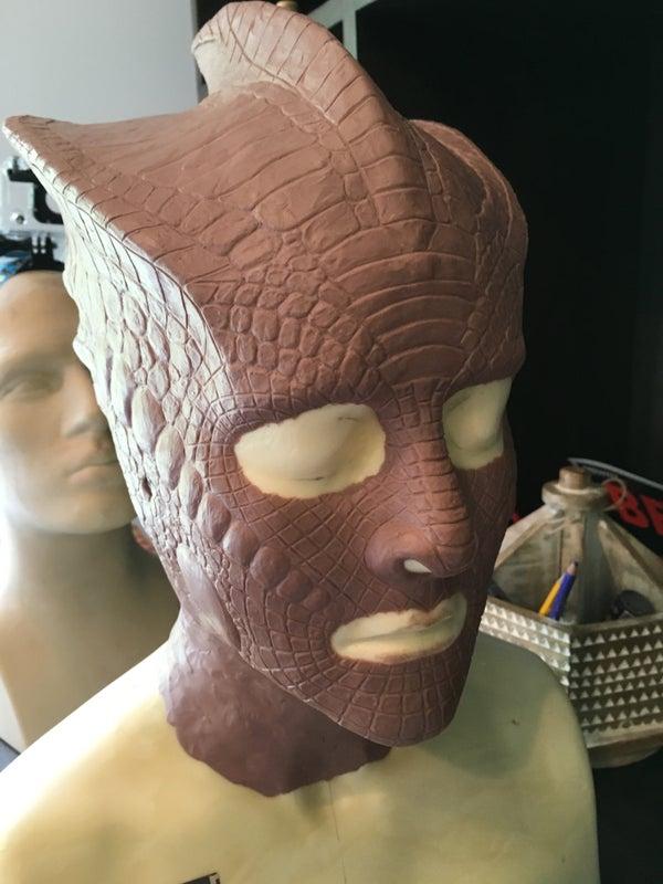 Silurian Head Sculpt for Comic-con 2016