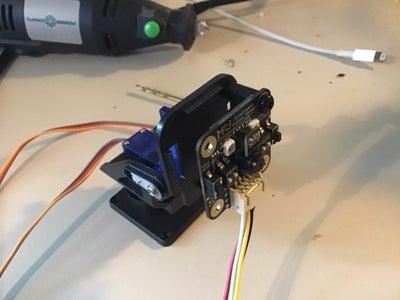 Drill Holes and Install Camera