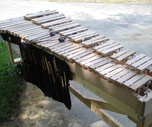 Build Your Own Marimba and Wrap Your Own Mallets!