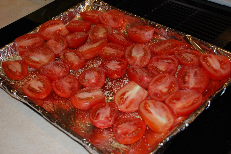 Prepare the Tomatoes