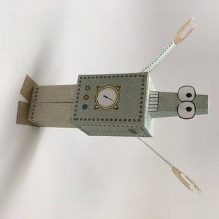 Paperbot - Paper Robot to Print Out and Make