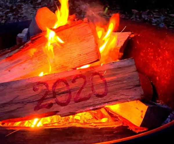 2020年Yule Log DIY/节日装饰电视