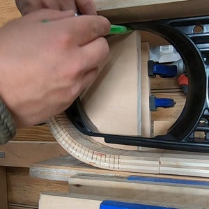 Make Wooden Support Pieces - Part C
