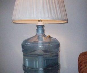 Water Jug Aquarium/lamps