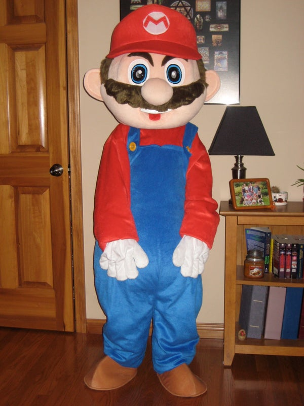 Epic Mario Costume