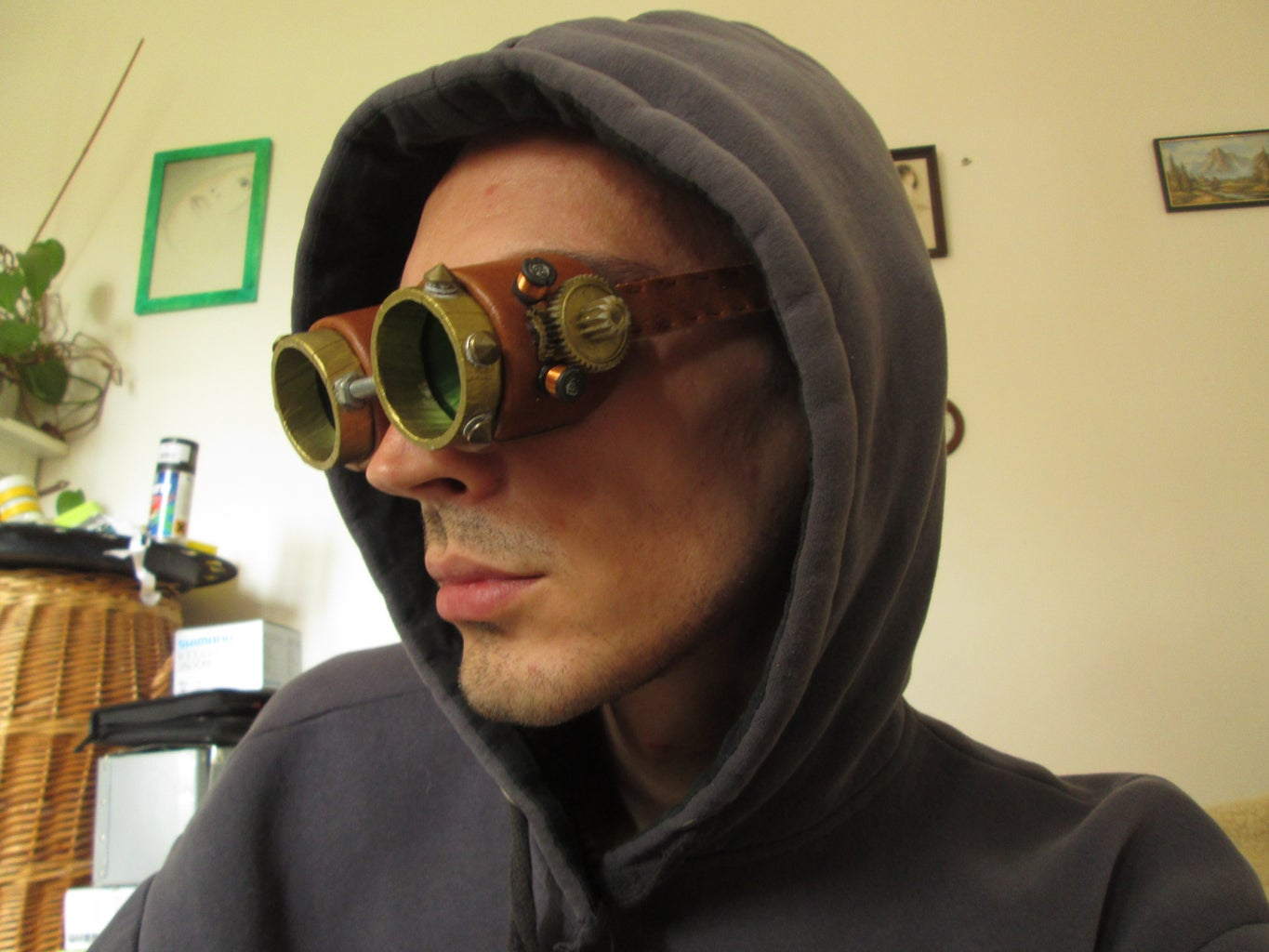 Steampunk Goggles for Couples