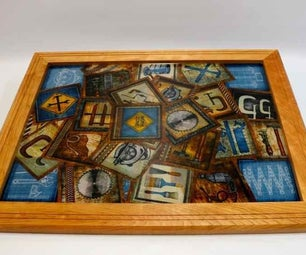 Make a Fabric Collage With Epoxy