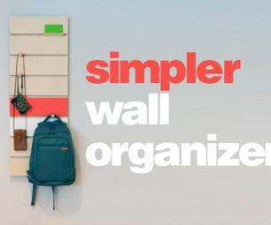Simple Wall Organizer Hanging Thing